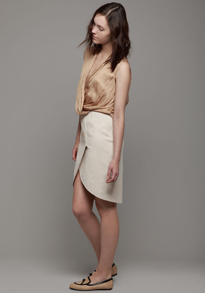 Tailored Blouson Dress