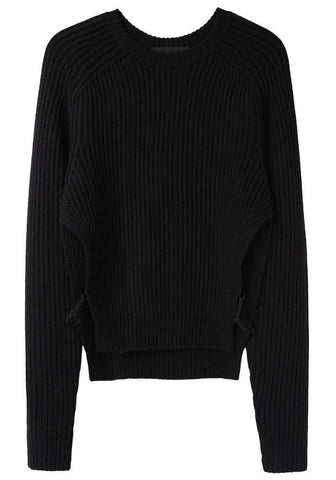 Thick Ribbed Pullover