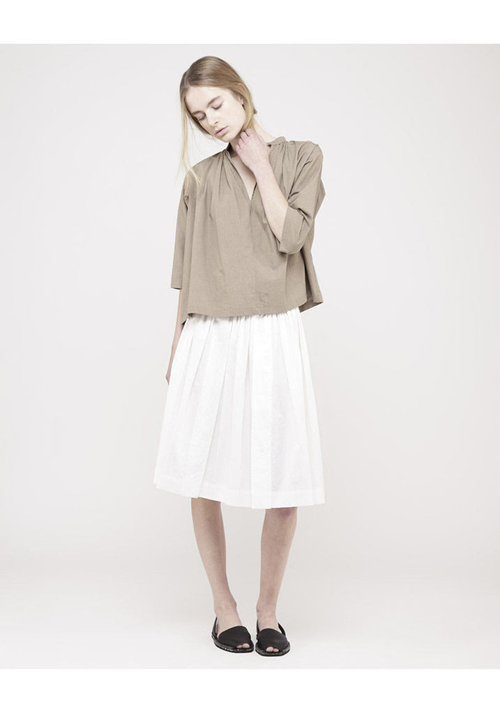 Shirred Freja Skirt