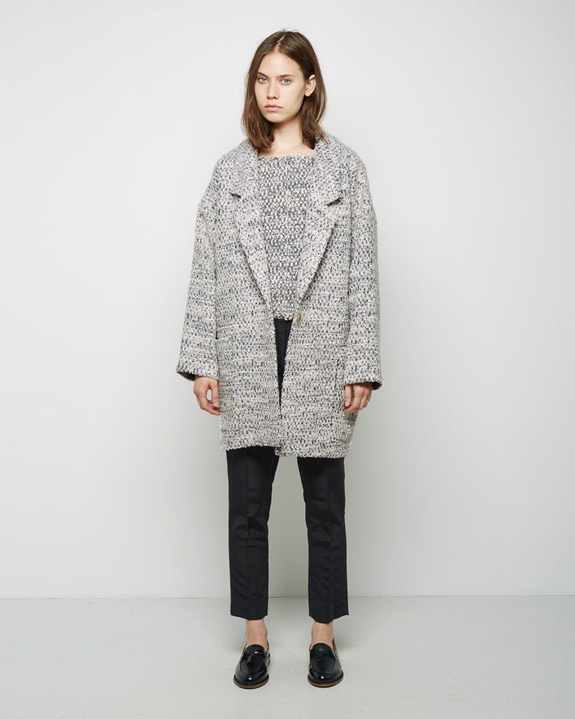 Vita Oversized Collar Coat