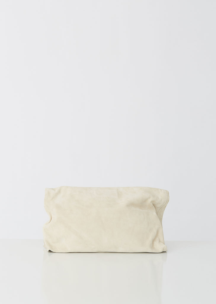 Suede Roll Clutch