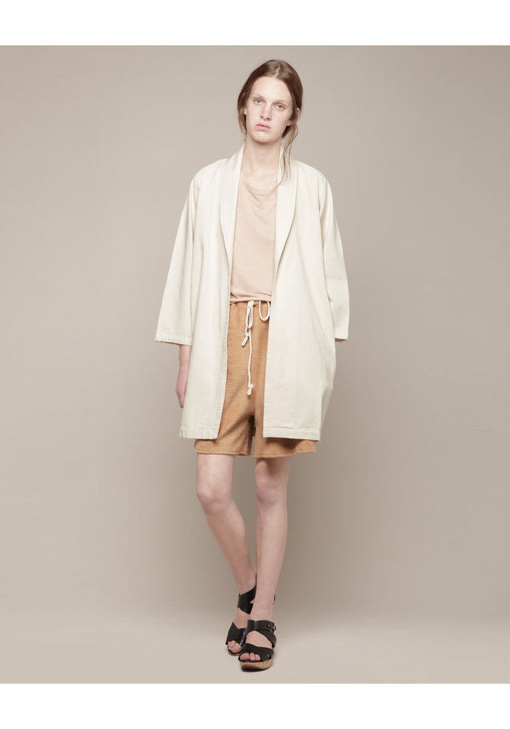 Open Trench With Belt