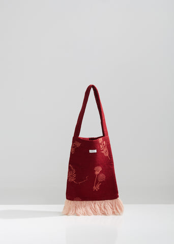 Floral Embroidered Lace Bag