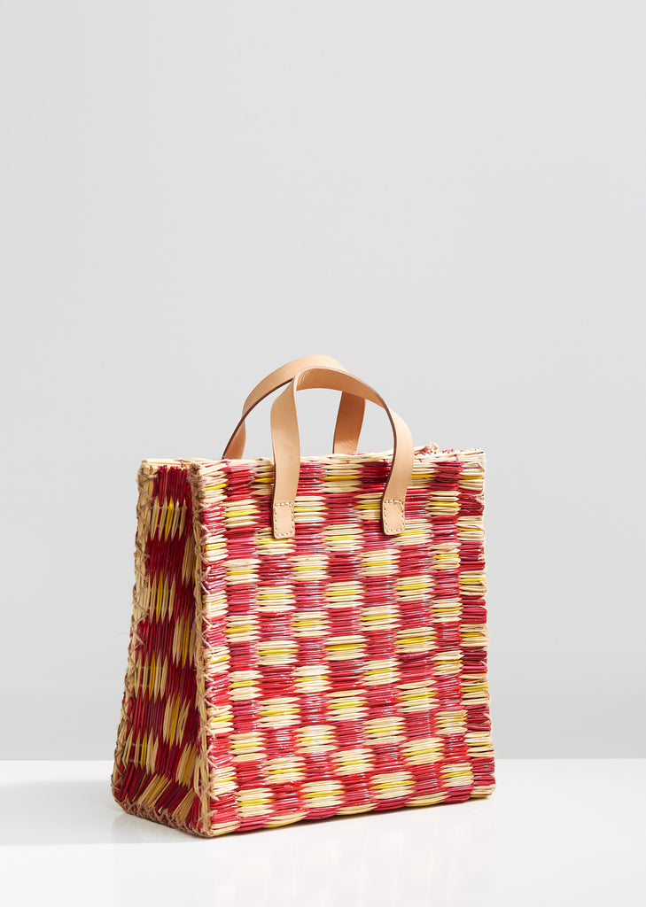 X Heimat Atlantica Handmade Straw Basket Bag