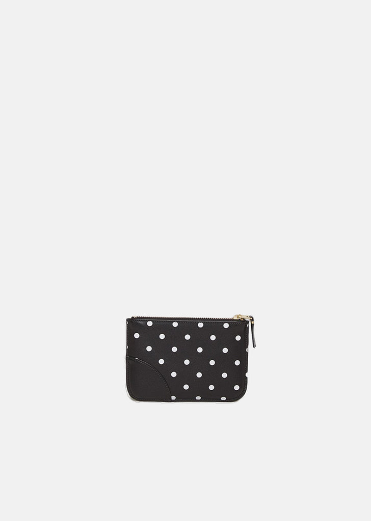 Polka Dot Mini Zip Pouch