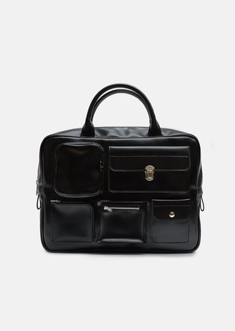 Synthetic Leather Briefcase