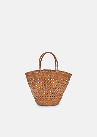 Cannage Myra Basket Bag