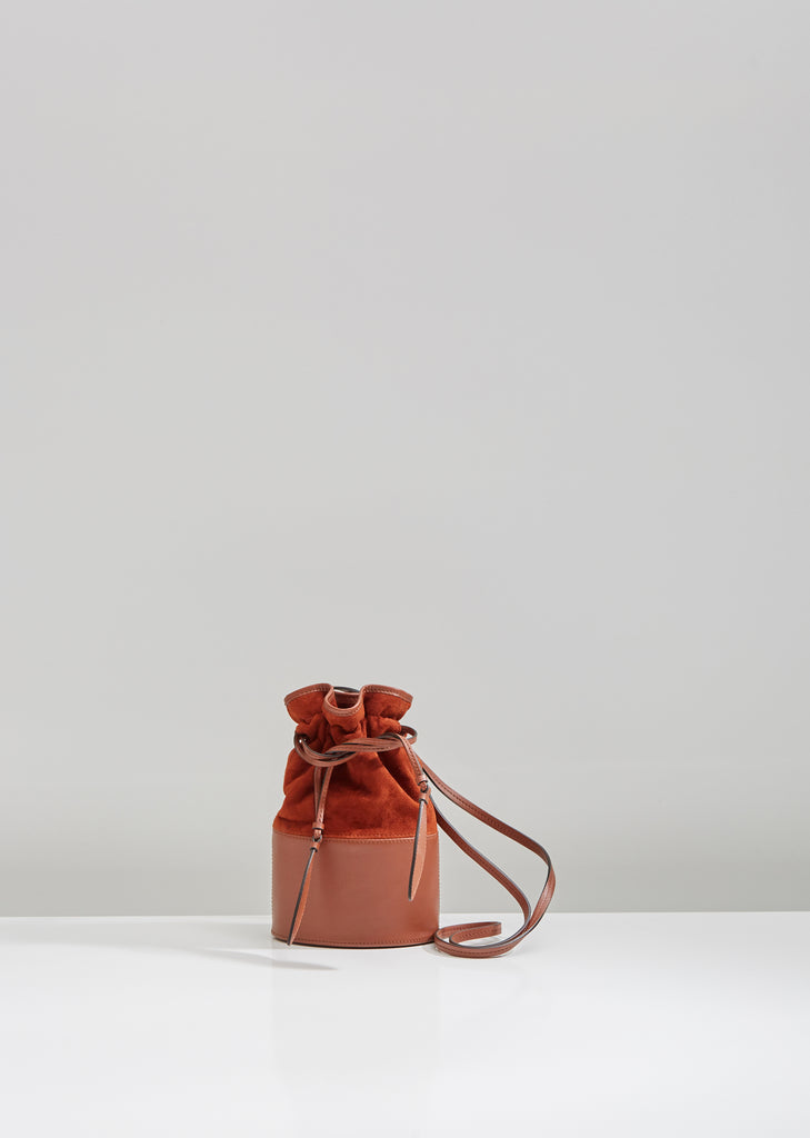 Suede Small Lola Bag