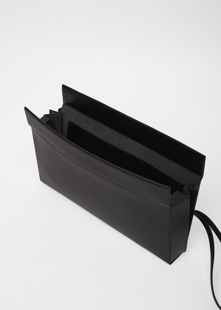 Pleated Box Clutch