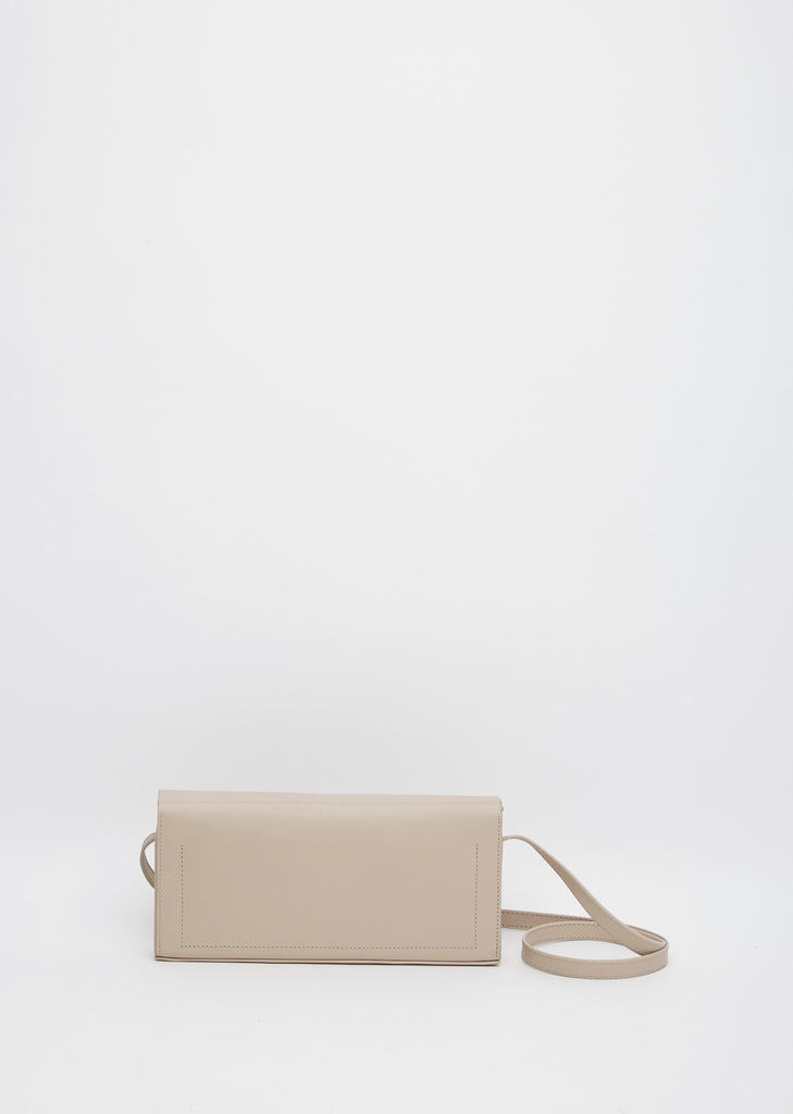 Pleated Box Shoulder Bag