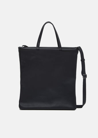 Black Tube Tote Bag