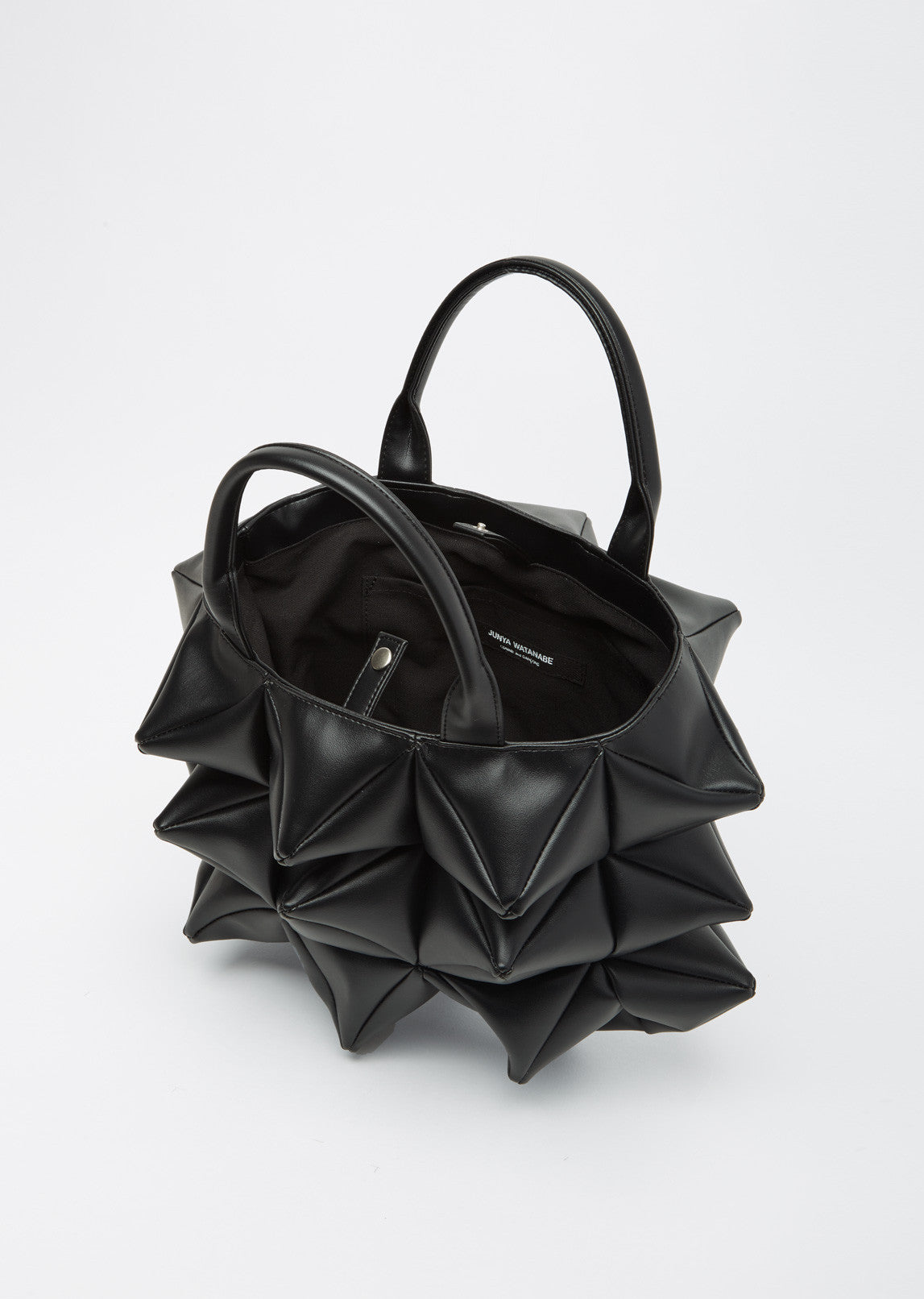 Spiked Top-Handle Bag