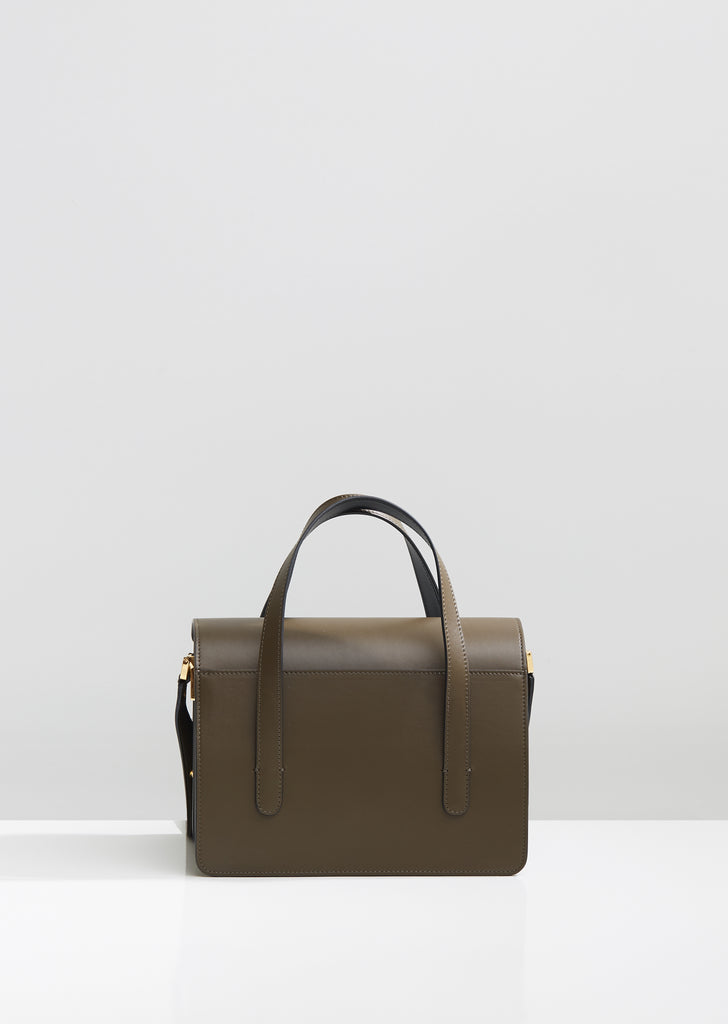 Leather Trunk Bag