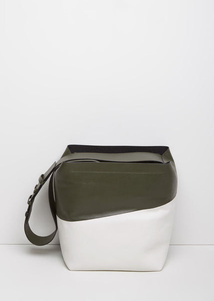 Marni Color-Blocked Messenger Bag La Garconne