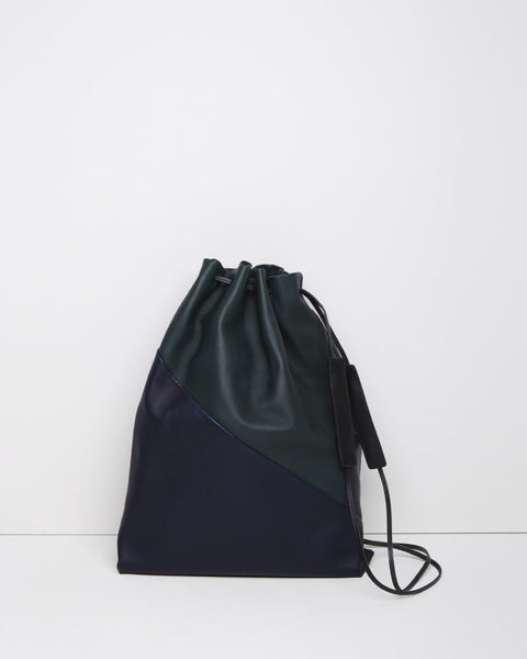 Marni Leather Drawstring Shoulder Bag La Garconne