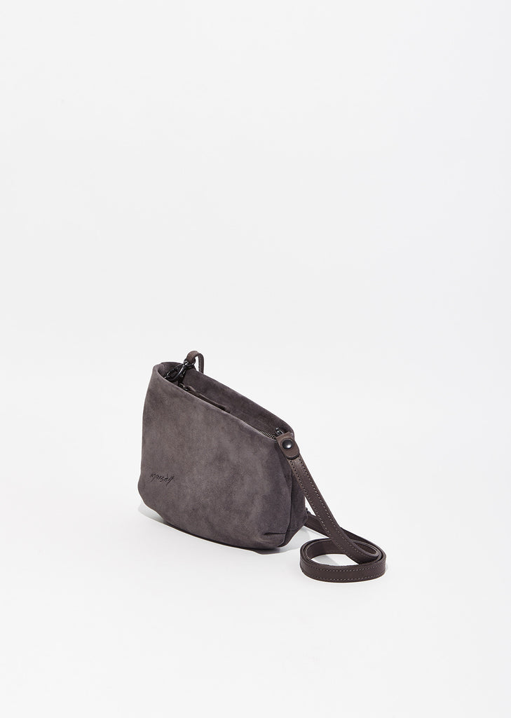 Fantasmino Distressed Suede Bag