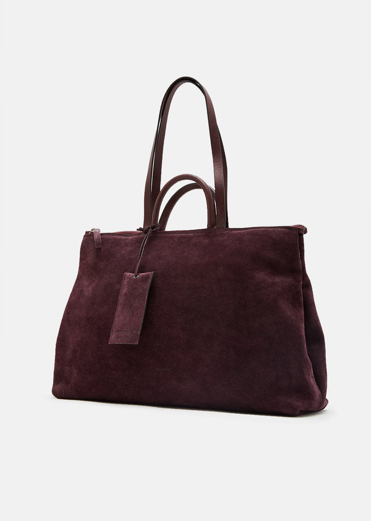 4 In Orizzontale Suede Bag