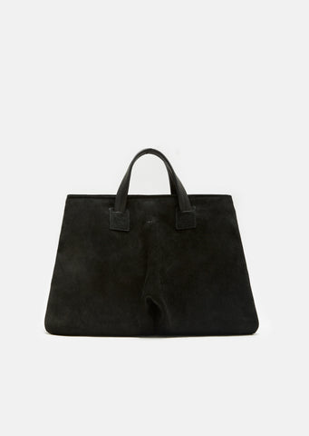 Punta Grande Distressed Suede Bag