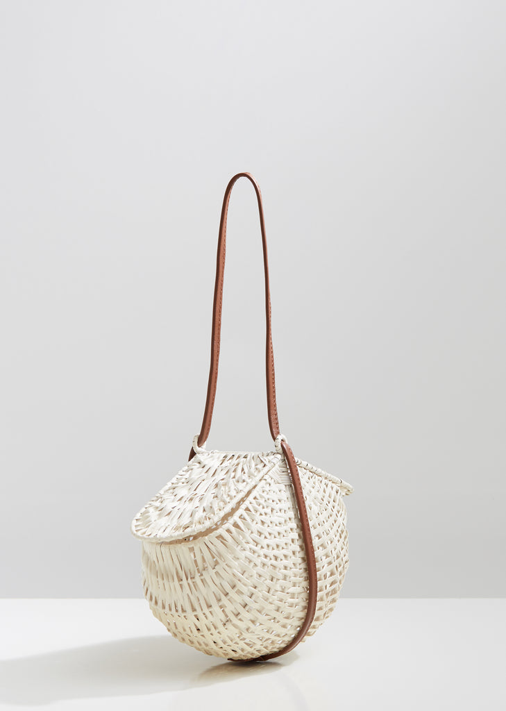 Leuca Handwoven Wicker Bag