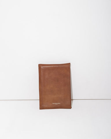 Leather Notebook Clutch