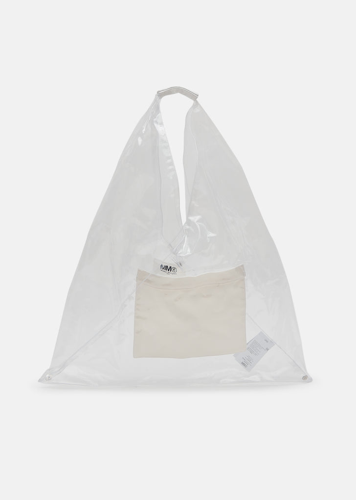 Transparent PVC Triangle Tote