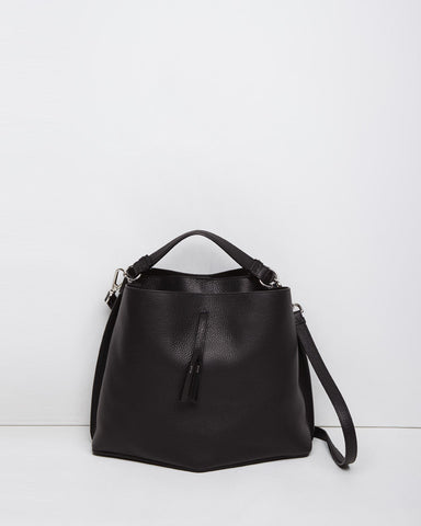 Large Offset Bucket Bag