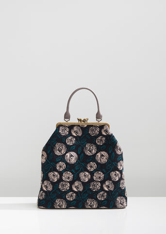 Rosy Floral Tote Bag