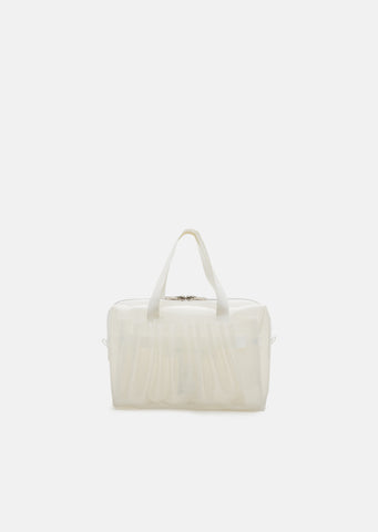 PVC Pleated Pocket Small Handbag
