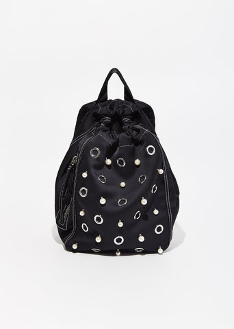 Go-Go Medium Satin Knapsack