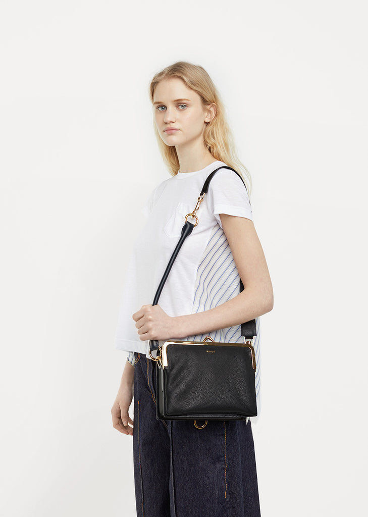 Hybrid Leather Satchel