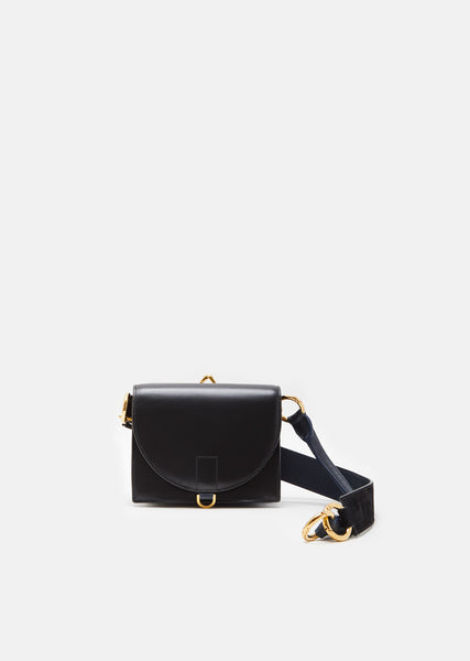 Mini Clasp Satchel Bag