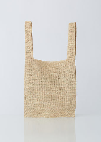 Raffia Shopping Bag