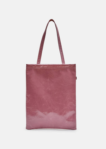 Farah Lacquered Tote Bag