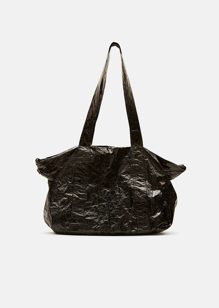 Lyla East West Lacquered Tote Bag