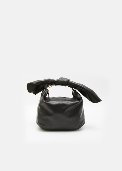 Bonded Nappa Bow Bag