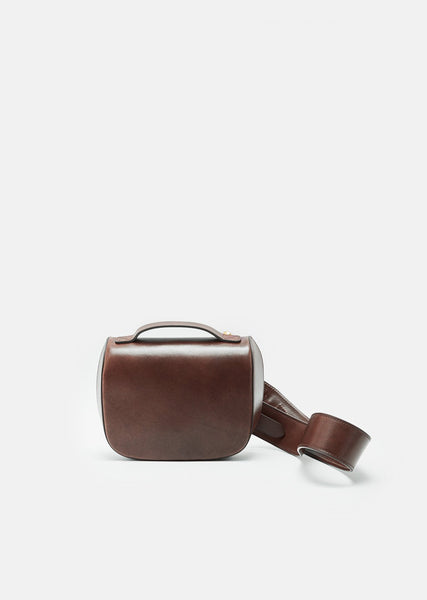 Small Leather Box Bag