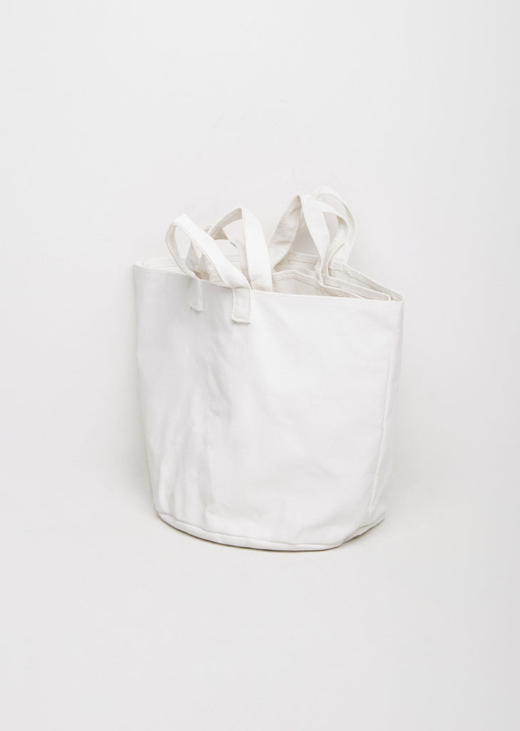 Set of Three Canvas Tote Bags
