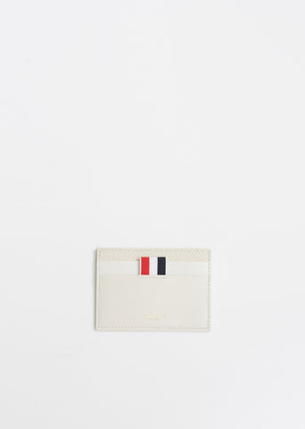 Pebble Lucido Leather Card Case