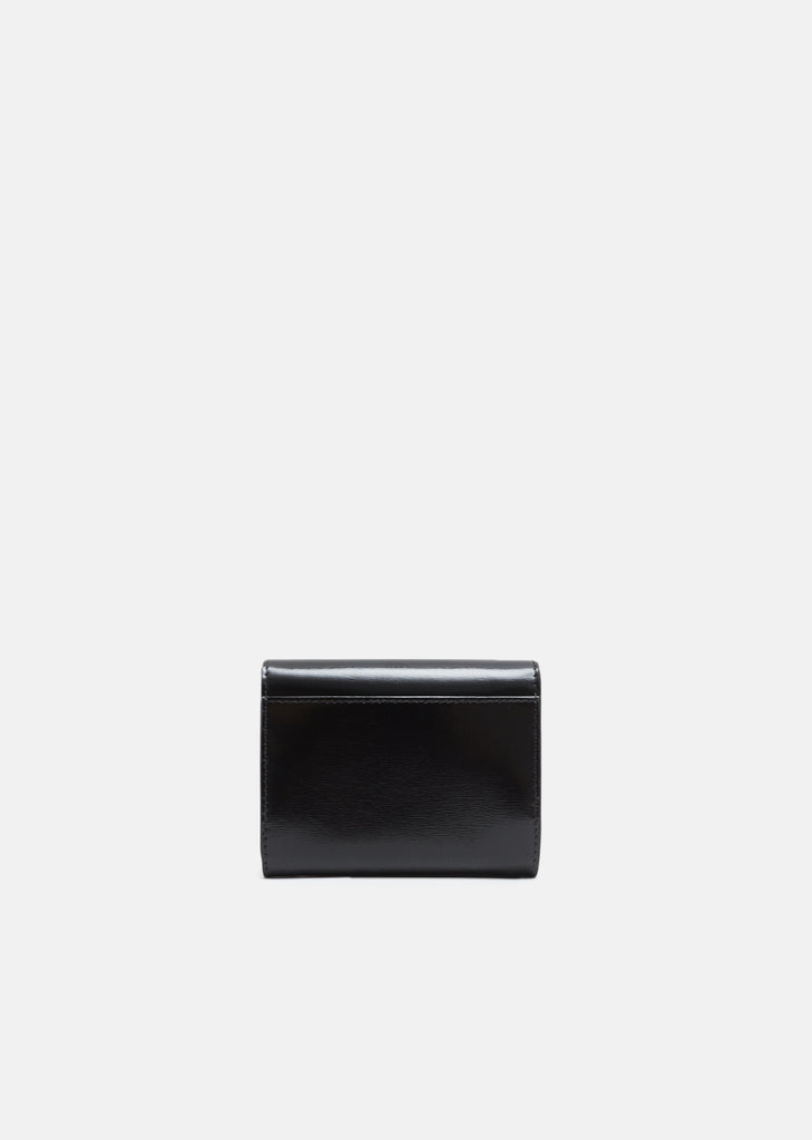 Short Wallet with Clasp Closure