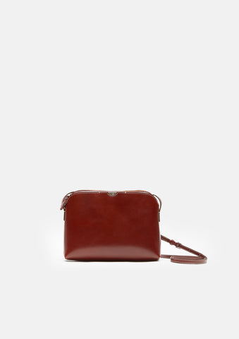 Leather Multi-Pouch Shoulder Bag