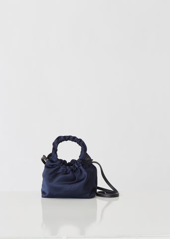 Satin Small Double Circle Bag