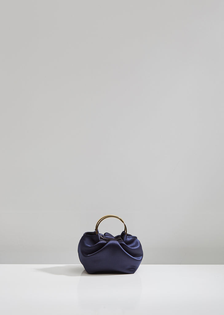 Satin Micro Double Circle Bag