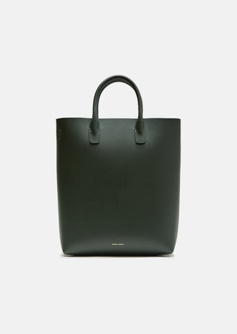 Calf Leather North South Tote