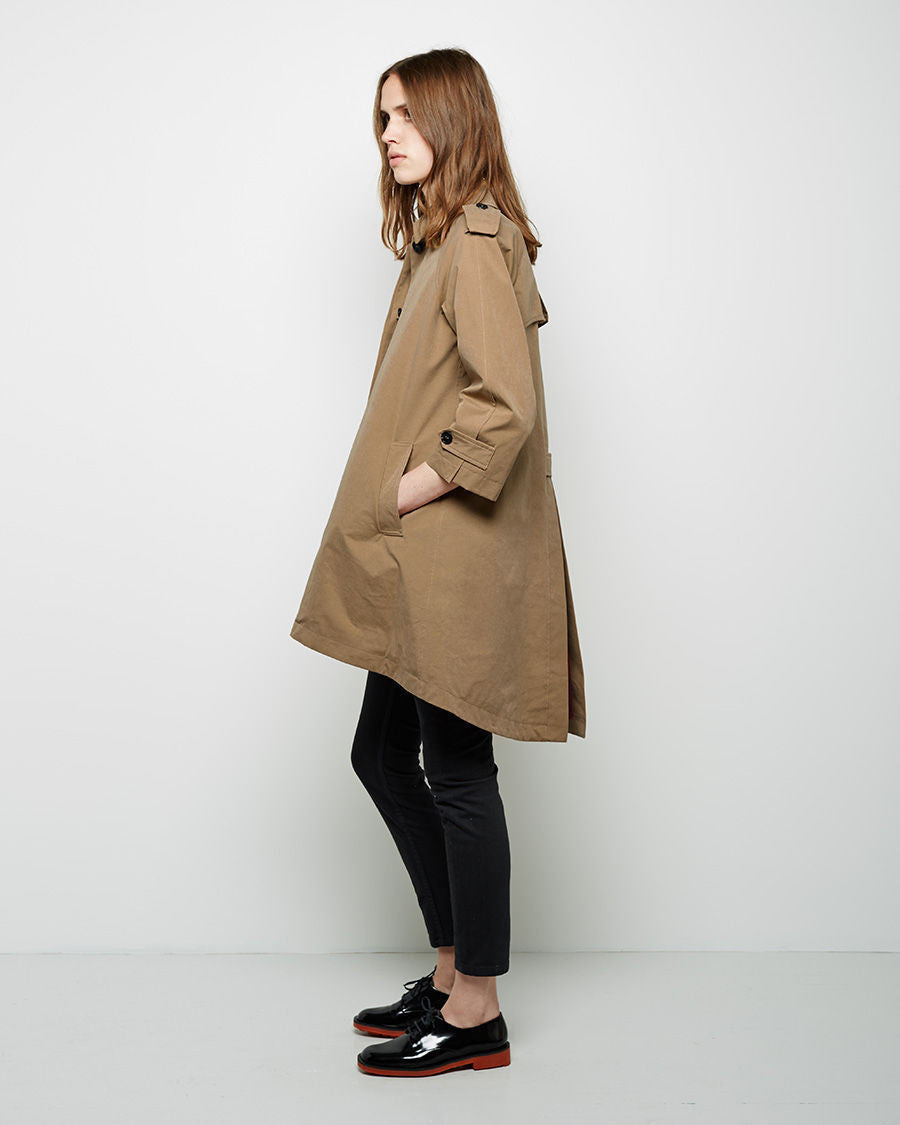 Blanket Lined Trench