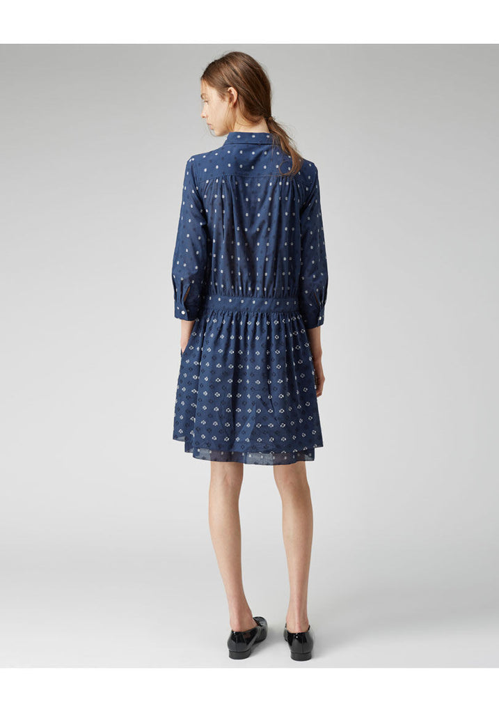 Crosshatch Shirtdress