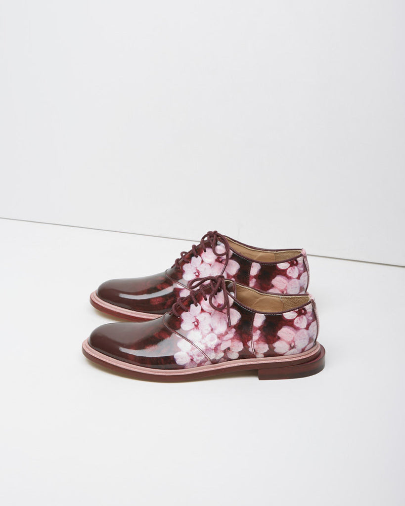 Floral Saddle Shoe