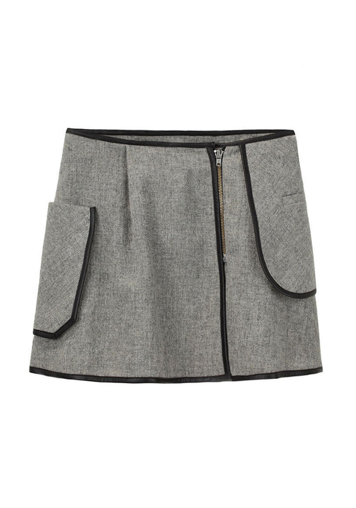 Mini Wrapover Skirt