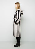 Tria Long Jacquard Coat