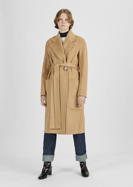 Carice Doublé Belted Coat