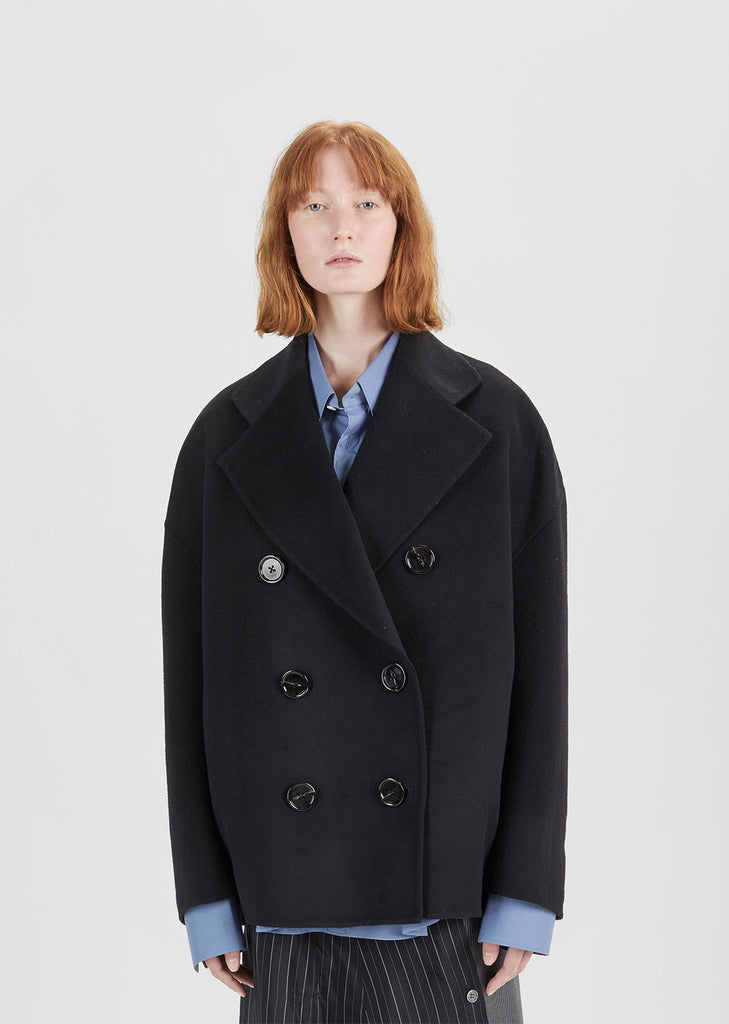 Claar Double Breasted Pea Coat